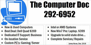 """""""The Computer Doctor"""" Complete Computer Services"""