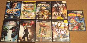 Nintendo GameCube - 9 games inc. Harvest Moon & Metroid Prime
