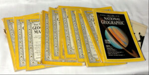 Vintage National Geographic Magazine Collection