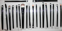 Brand new pack of makeup brushes. 24 excellent quality brushes!