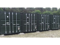 Self Storage Container in Secure Yard