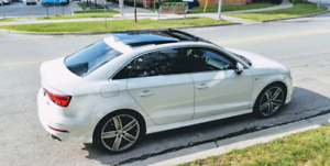 2018 Audi A3, Technik, $614.03/month, with Audi Care package