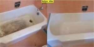 Refinish your Bathtubs & Save up to 75% cost of new bathtub