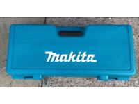 MAKITA ANGLE GRIDER BRAND NEW EMPTY CASE FOR SALE , PICK UP MY HOME ADDRESS, £29, NO OFFER,THX