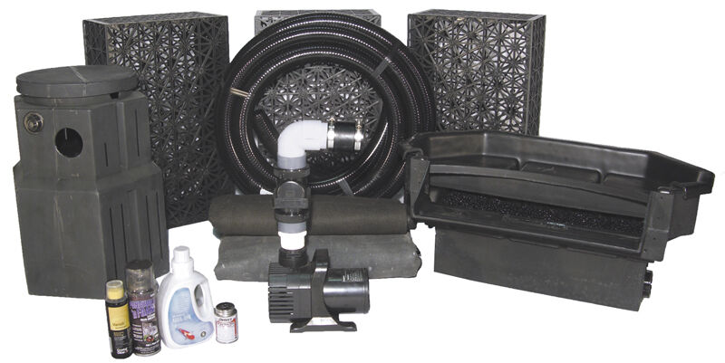 Professional Pond-Less Kits by Complete Aquatics - for Features up to 25