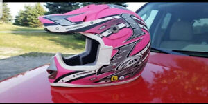 Pink jr large helmet