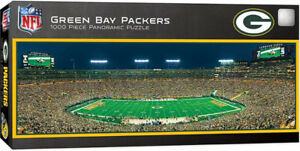 1000 piece Panoramic NFL Green Bay Packers stadium puzzle