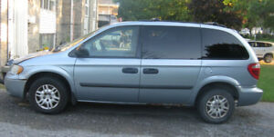 2005 Dodge Caravan Minivan, For Parts or Repair