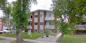 Downtown (Oliver Square) Edmonton 1 Bed Condo Heat/Water Includ*