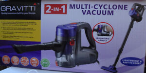 2-IN-1 Multi-Cyclone Vacuum (GRAVITTI)