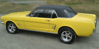 * A VOIR * 1966 FORD MUSTANG HARDTOP