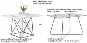 *NEW* Monarch Dinning Table / Mordern Look