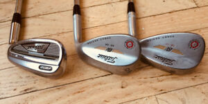 Titleist Wedge Set 51 degree Forged; 56 and 60 degree Vokeys