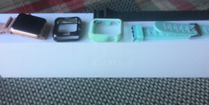 Like new Apple Watch series 2-38m. Inc -3bands and 2 Face covers