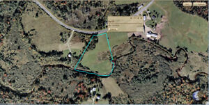 4.35 acres of land for sale on the Oleary road in Beaverdam