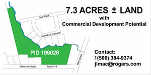 VACANT LAND WITH SIGNIFICANT DEVELOPMENT POTENTIAL