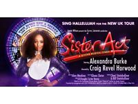 Sister Act - Brighton Centre - 2 tickets - 14th January 2017 - 7.30pm