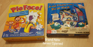 Pie Face and Gone Fishing Brand New Never Opened Spryfield  $5