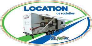 LOCATION--ROULOTTE A LOUER -VACANCE