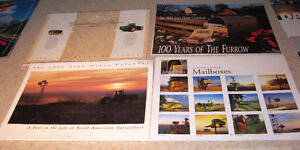 John Deere Tractors Bulldozers Mailboxes Dogs Cows old Photo's