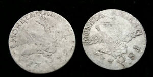 German Prussia silver coin 3 groschen from XVIII. $6 for one