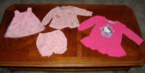 Girls Baby Clothes, Hello Kitty, Thomas Dress, Minnie Mouse Pink
