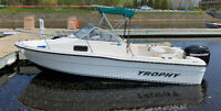 2006 Trophy 1802wa boat for sale