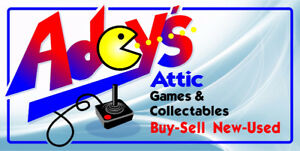 Adey's Attic Video Games & Collectables Store !!! Buy & Sell !!
