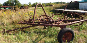 THREE WHEEL RAKE  275.00 OR BO