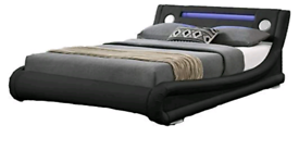 Bluetooth flux leather bed
