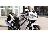 DAELIM ROADWIN 125cc 125 SPORT LEARNER LEGAL MOTORBIKE MOTORCYCLE