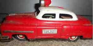 1950s Remote Control Fire Chief car Regina Regina Area image 1
