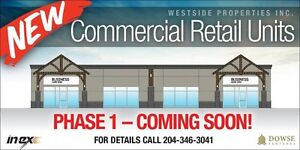 New Commercial Retail Units in Niverville