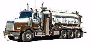 Vacuum and Water Trucks to Lease / Rent