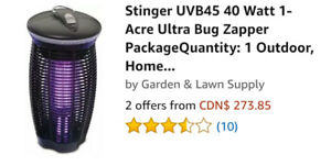 1 acre insect zapper $80