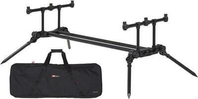 JRC Compact Contact 3 Rod Pod + Carry Case NEW Carp Fishing Rod Pod - 1406907