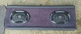 "Honda civic ep3 custom parcel shelf with 6"" 9"" speakers"