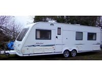 COMPASS RALLYE 640 + NEW MOTOR MOVER. FIXED BED (end bedroom), TWIN AXLE 2004