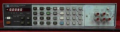 Hp - Agilent 3456a 2512a17307 Voltmeter