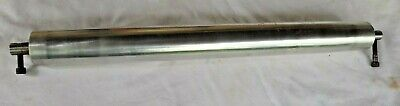 Steel Conveyor Belt Idler Roller Stainless 19 Long