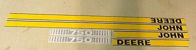 John Deere 750 Hood Decals