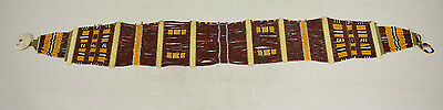 Beaded Belt Sash Womans Naga Konyak Tribe Beaded Sash Belt