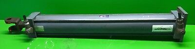 Miller Fluid Model Al62b2b Pneumatic Cylinder 4 Bore 28 Stroke 250 Psi