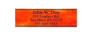 Custom-Orange-Amp-Club-Shaft-Labels-With-Your-Name-Address-Phone