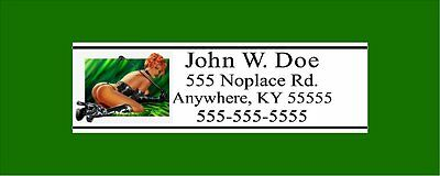 Custom Golf Babe Club Shaft Labels With Your Name, Address & Phone