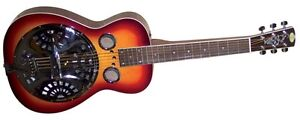 REGAL RD-40CHS Studio Series Squareneck Dobro Resonator Guitar CHERRY SUNBURST