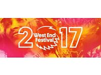 Looking for bands,soloists,choirs etc for Gala Day as part of the West End Festival