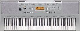 Yamaha 61 key touch response keyboard