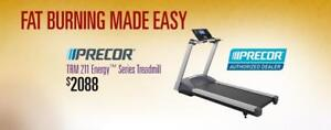PRECOR,S AUTHORIZED TREADMILL DEALER ON SALE AND IN STOCK LONDONS FITNESS DEPOT 94 BESSEMER COURT