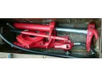 Hydraulic spring compressor used once